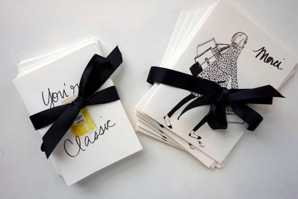 The Atelier notecards, the-alyst.com