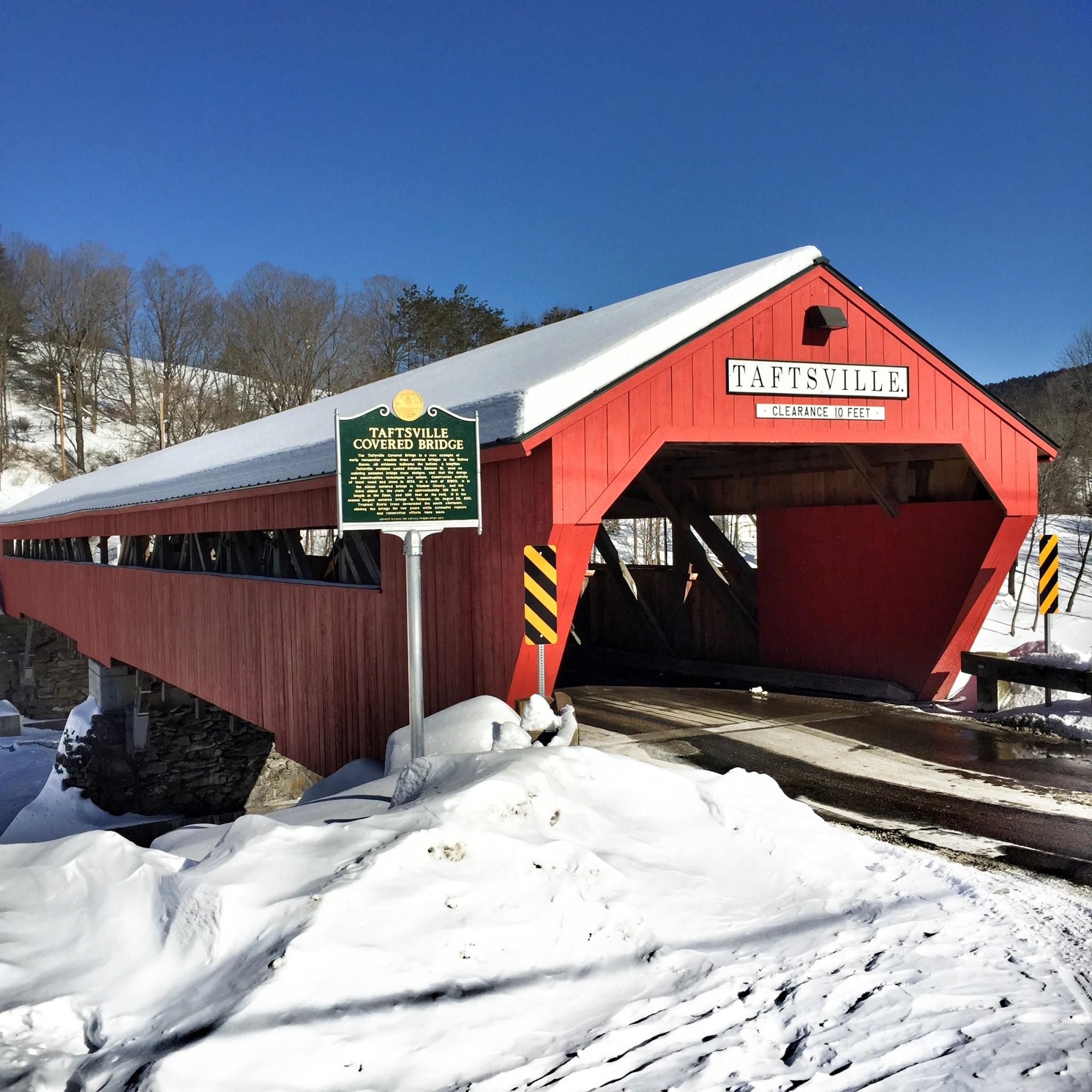 TAFTSVILLE BRIDGE, woodstock, vermont, the-alyst.com