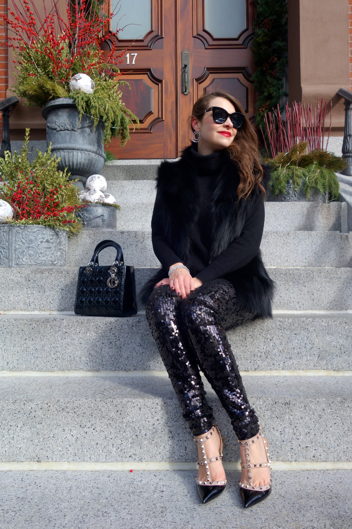 express sequin leggings, dior lady dior purse, boston, the-alyst.com