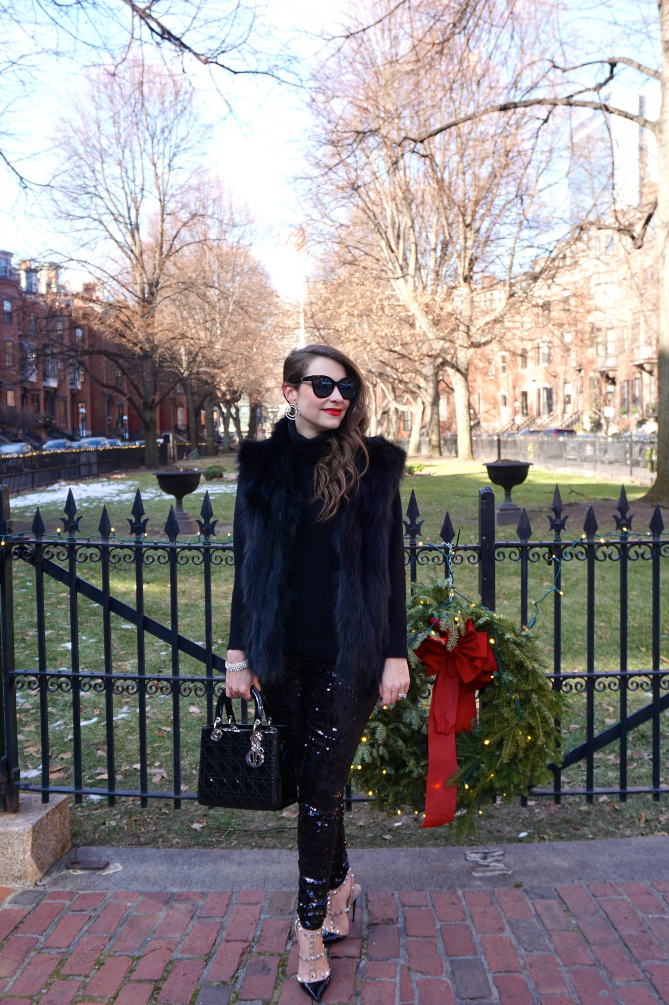 express sequin pants, NYE style, boston, the-alyst.com