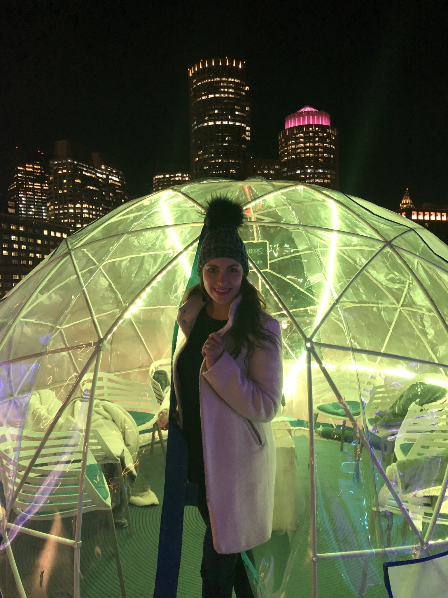 igloos at the envoy hotel boston, the a-lyst.com