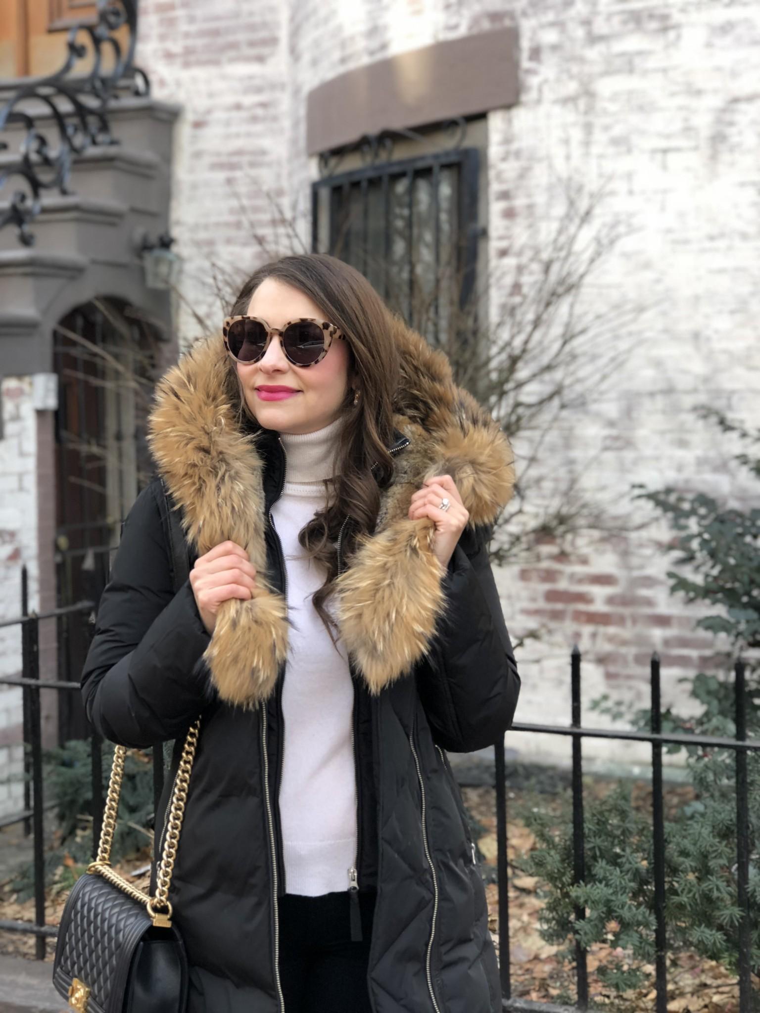 mackage trish coat, stylish winter coats, the-alyst.com