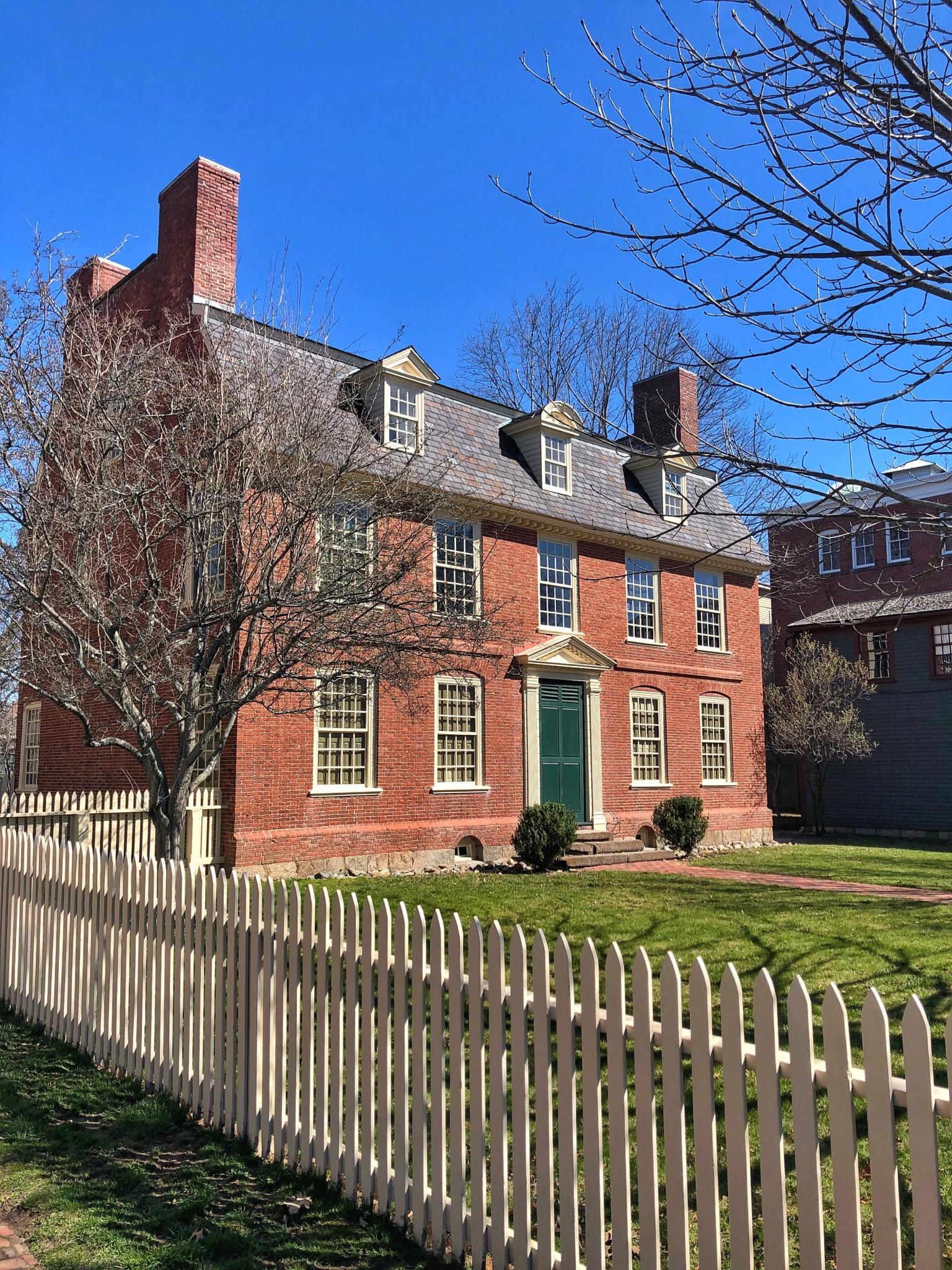 Derby House, salem, massachusetts, the-alyst.com