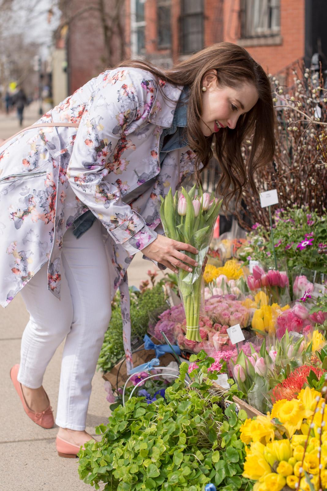 Best Spring Coats, floral jacket, the-alyst.com