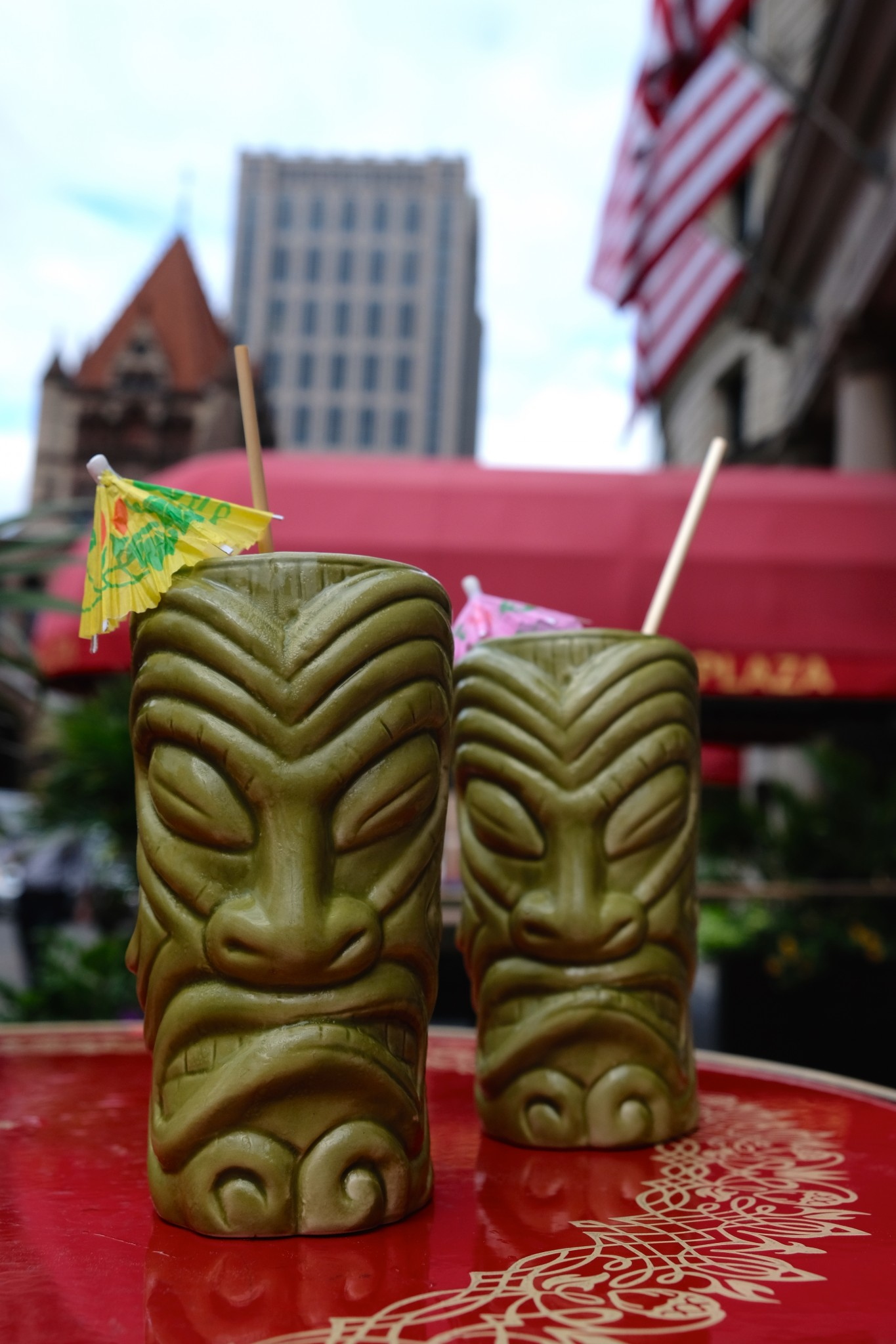 tiki drinks, patio dining, fairmont copley plaza, oak long bar and kitchen, boston, the-alyst.com