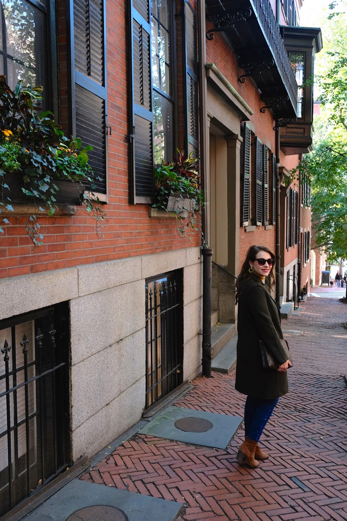 fall coat, fall style, olive green coat, the-alyst.com