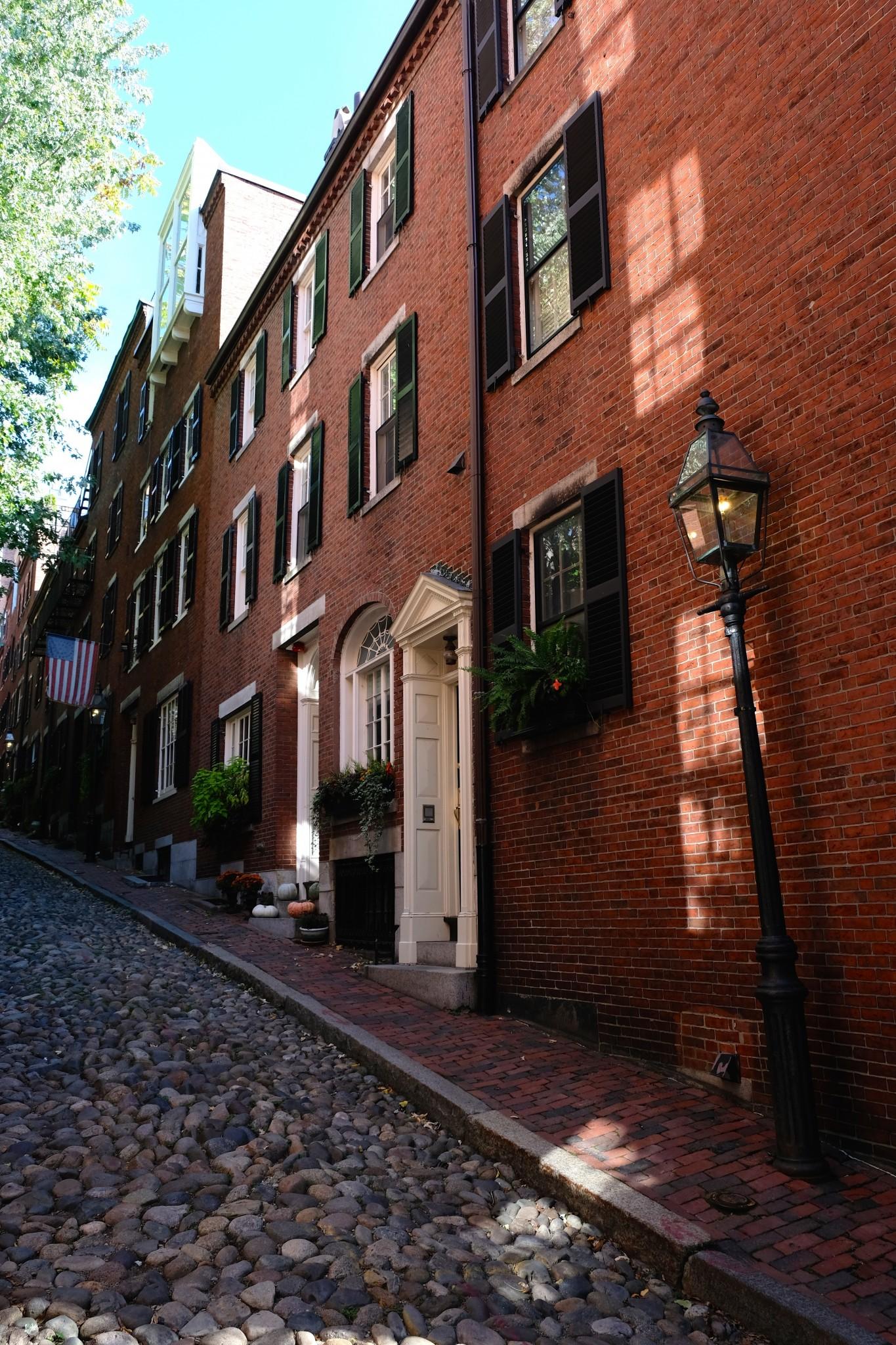 acorn street boston, beacon hill, the-alyst.com
