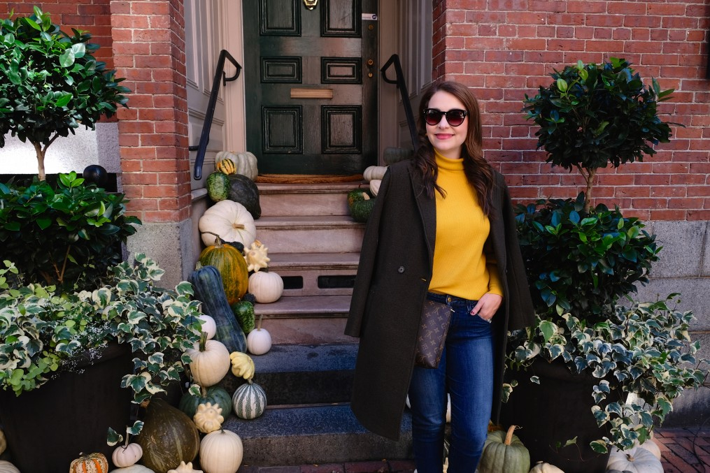 fall coat, fall style, olive green coat, the-alyst.com