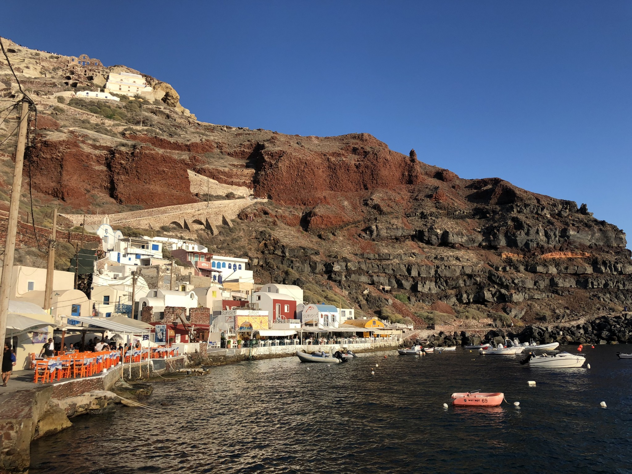amoudi bay, most instagrammable spots oia, santorini, the-alyst.com
