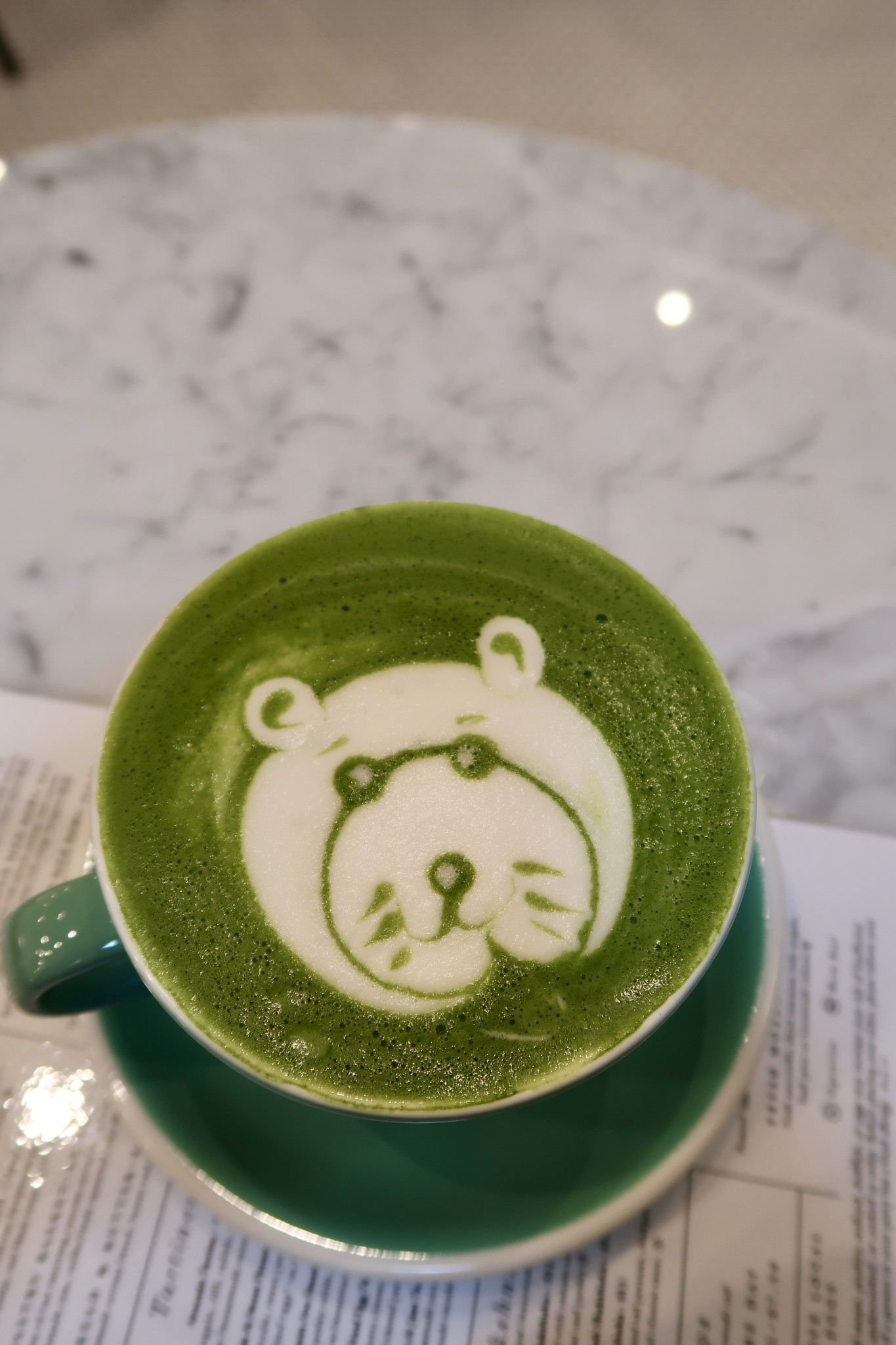 matcha latte, tatte bakery, the-alyst.com