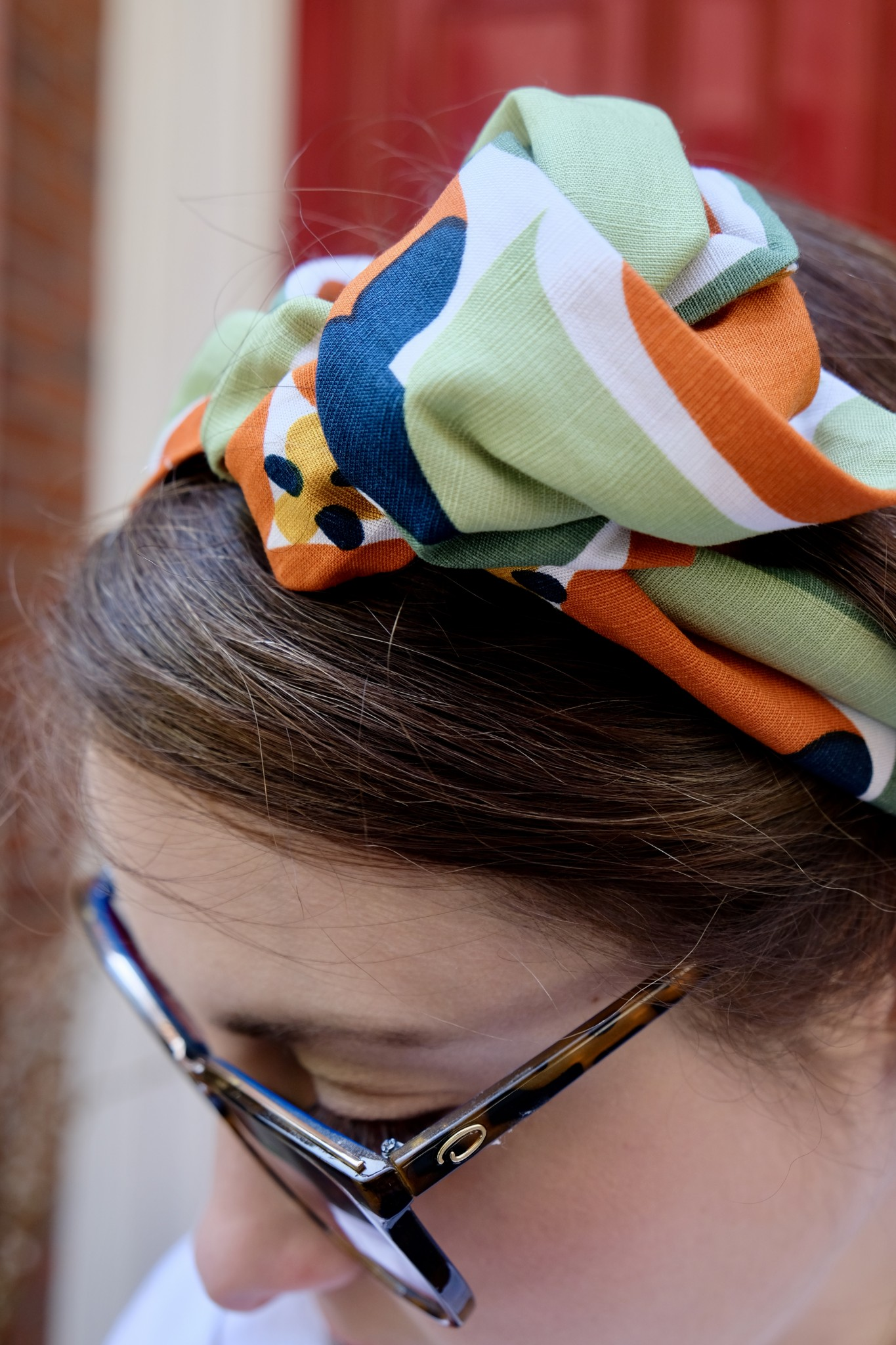 top knot headband, the-alyst.com