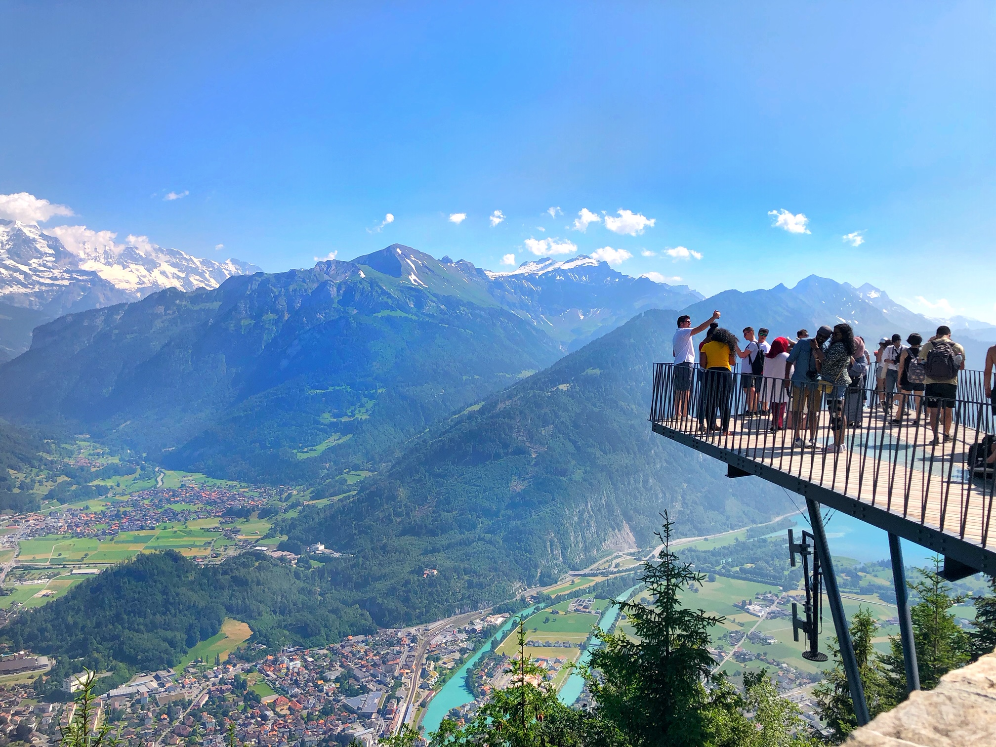 interlaken switzerland, harder kulm, the-alyst.com
