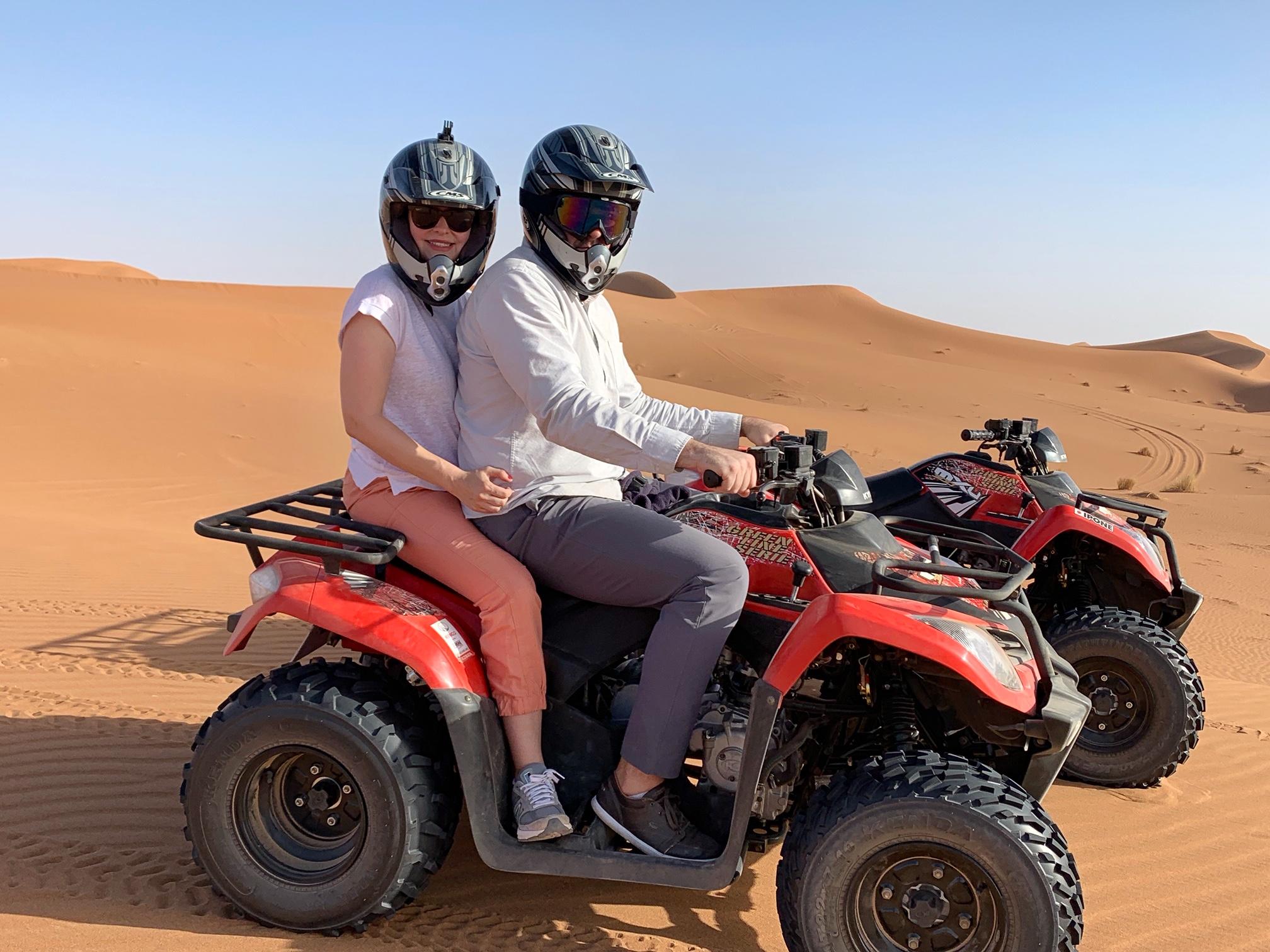 ATV RIDE, SAHARA DESERT, MOROCCO, THE-ALYST.COM
