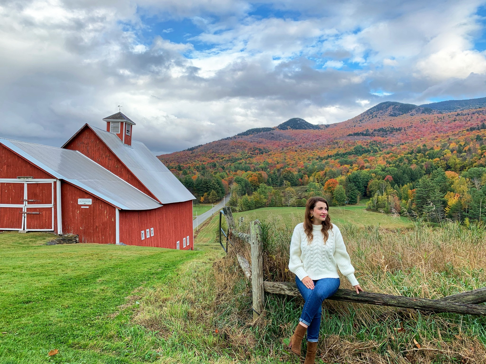 leaf peeping, foliage, stowe, vermont, the-alyst.com